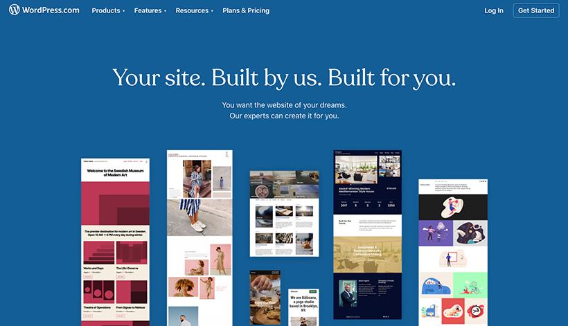 WordPress-custom-websites