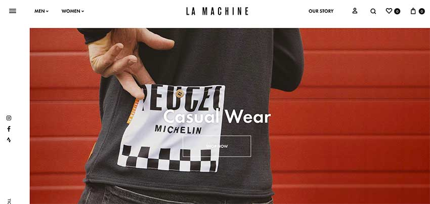 The La Machine Cycle homepage